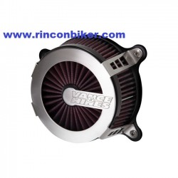 FILTRO VANCE&HINES VO2 FIGHTER PARA 00-15 SOFTAIL, 99-17 DYNA Y 02-07 TOURING