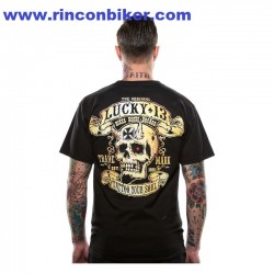 "CAMISETA LUCKY 13 ""BIKES AND BROADS"""