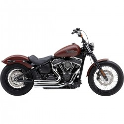 ESCAPE COBRA SPEEDSTER 909 CROMADO PARA SOFTAIL 2018 Y 2019