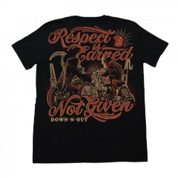 "CAMISETA ""RESPECT IS EARNED"" DE DOWN-N-OUT"