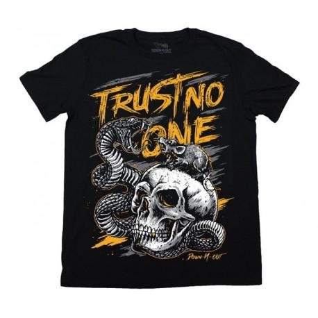 "CAMISETA ""TRUST NO ONE"" DE DOWN-N-OUT"