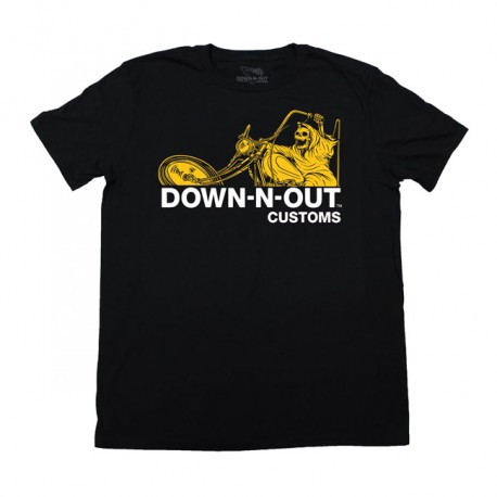 "CAMISETA ""MOTOR PSYCHO"" DE DOWN-N-OUT"