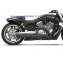ROAD RAGE II B1 POWER SYSTEMS NEGRO PARA V-ROD