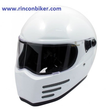 CASCO BANDIT FIGHTER BLANCO