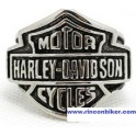 ANILLO HARLEY DAVIDSON LOGO SELLO EN ACERO INOXIDABLE