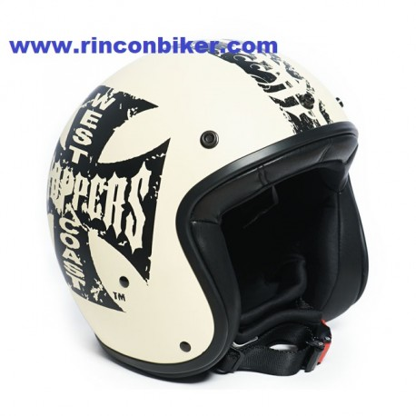 Casco wcc jet con logo de west coast choppers for Carrelage casco inc